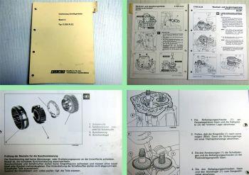 Werkstatthandbuch Fiat Bravo C.510.5.21 Schaltgetriebe 1995 - 1998