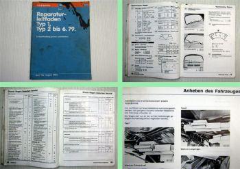 Reparaturleitfaden VW Käfer Typ 1 Bus Typ 2  Instandhaltung Werkstatthandbuch 81