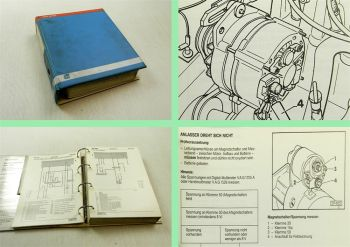 Werkstatthandbuch VW Golf II Rallye Jetta 1989-92 Stromlaufpläne Elektrik