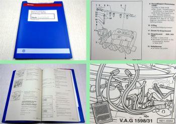 Reparaturleitfaden VW T4 Transporter 2,5l Simos Einspritzanlage APL ab 5 1999