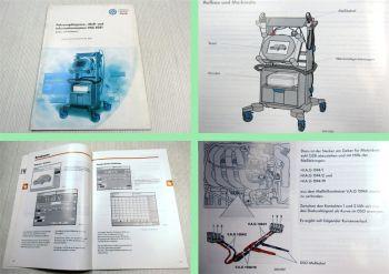 SSP 202 VW Audi VAS5051 Fahrzeugdiagnose Konstruktion + Funktion 1997