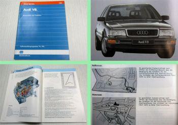 SSP 106 Audi V8 Konstruktion und Funktion 1988 Schulung