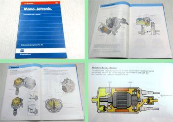 SSP 94 VW Golf 2 Selbststudienprogramm 1,8 L Mono-Jetronic RP