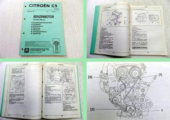 Reparaturanleitung Citroen C5 2,0 L Motor EW10J4D HPi16 RLZ Werkstatthandbuch