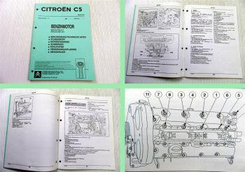 Reparaturanleitung Citroen C5 EW7J4 6FZ / EW10J4 RFR Werkstatthandbuch 2001