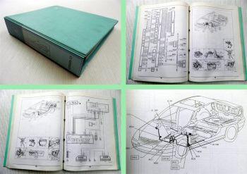 Werkstatthandbuch Citroen C5 Elektrische Schaltpläne 2000 ab 8631 3 Bände