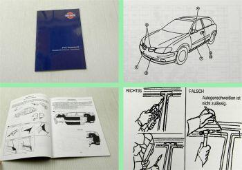 Nissan Almera N16 Karosserie Werkstatthandbuch 2000 Instandsetzung