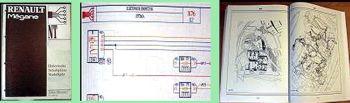 Werkstatthandbuch Renault Megane Scenic elektrische Schaltpläne ab Januar 1999