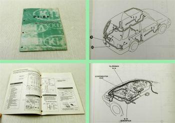 Werkstatthandbuch Kia Pride 1999 Stromlaufpläne Elektrik Verkabelung Schaltplan