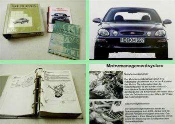 Werkstatthandbuch Kia Shuma I Stromlaufpläne + Reparaturanleitung ab 1999