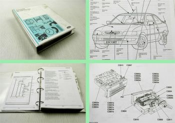 Werkstatthandbuch Ford Escort + Cabrio ab 1998 - 10/1999 Elektrische Schaltpläne