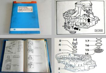 Reparaturleitfaden VW Golf 2 Jetta 1984 5 Gang Schaltgetriebe 02C Allradantrieb