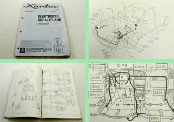 Werkstatthandbuch Citroen Xantia Elektrische Schaltpläne 2000 ab 8576