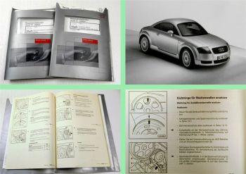 Reparaturleitfaden Audi TT 8N Werkstatthandbuch 1,8l Turbo Motor 5V APX