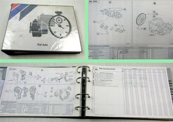 Fiat Richtzeiten und Schadenscode Palio 11/1997
