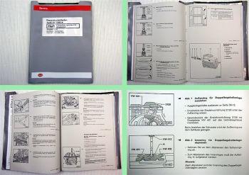 Reparaturleitfaden Audi A8 D2/4D quattro Schaltgetriebe 01A CSU CUU - DDN DJU