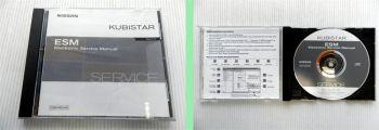 Nissan Kubistar X76 Werkstatthandbuch Electronic Service Manual CD 2003