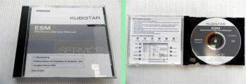 Nissan Kubistar X76 ab 09/2003 Werkstatthandbuch Electronic Service Manual CD