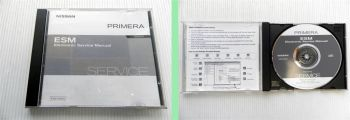 Nissan Primera P12  Werkstatthandbuch Electronic Service Manual CD 2001