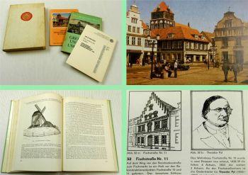 Greifswald und Umgebung Universität Menschen Bauwerke 4 Bücher