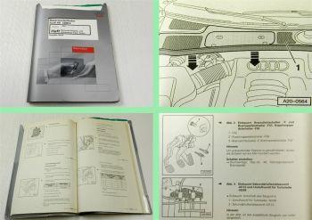 Reparaturleitfaden Audi A6 C5 Werkstatthandbuch 1,8l Turbo 110kW Motronic AWT