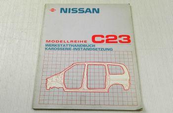 Nissan Serena C23 Karosserie Werkstatthandbuch 1993