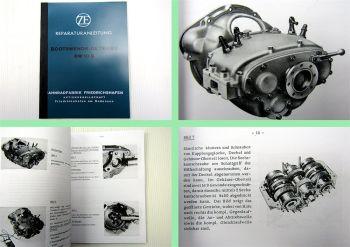 ZF BW10 G Bootswendegetriebe Reparaturanleitung