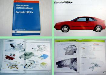Reparaturleitfaden VW Corrado 53i VR6 Karosserie Instandsetzung Typ 50 ab 1989