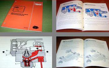 Deutz SD 80 Mähwerksteuergerät Arbeitshydraulik Schulungshandbuch 1984