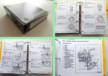 Werkstatthandbuch Skoda Fabia I Reparaturanleitung Getriebe 02T 002 02R 0A8 001