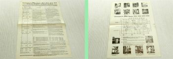 Fendt Farmer Favorit Schlepper Geräteträger Schmierstoffe Füllmengen 1975