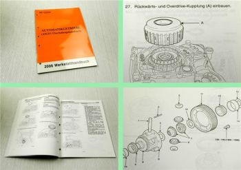 Werkstatthandbuch Kia Optima Magentis A5GF1 Automatikgetriebe 2006
