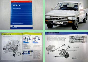 SSP 108 VW Taro Schulungshandbuch 1989 Selbststudienprogramm