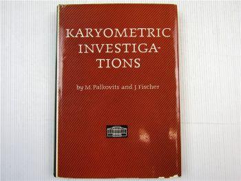 Karyometric Investigations karyometry histology Akademiai Kiado Budapest 1968