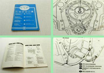 General Motors Kundendiensthandbuch Ergänzung 6A6 5,0 Liter V-8 Motor