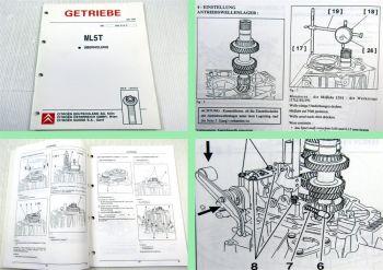 Werkstatthandbuch Citroen Getriebe ML5T Reparaturanleitung 5 Gang Schaltgetriebe