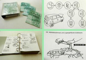 Reparaturhandbuch Kia Carens Werkstatthandbuch ab 1999 - 2002 + Schaltpläne