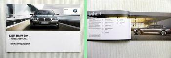 BMW 5er F10 Bedienung Kurzanleitung 2.2013