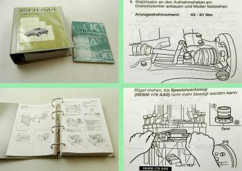 Reparaturhandbuch Kia Shuma I Stromlaufpläne + Reparaturanleitung ab 1999