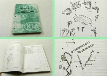 Werkstatthandbuch Kia Joice 1999 Arbeitszeitwerte 1999