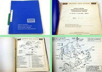 Clark Y1015-110PD Stapler Ersatzteilkatalog Spare Parts List Catalogue Pieces