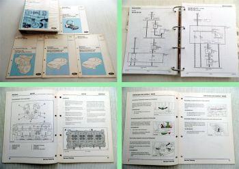 Ford Fiesta Schaltpläne Produkteinführung Technisches Service Training 1995-97