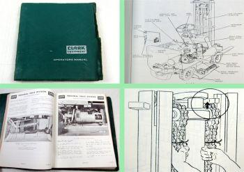 Clark EC20C EC25C ECS30C ECLS20B ECLS25B Operators Manual