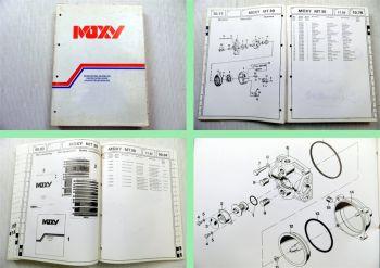 MOXY MT30 Parts Catalogue Ersatzteilliste Ersatzteilkatalog 1992
