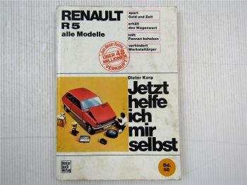 Renault R5 alle Modelle Jetzt helfe ich mir selbst Reparatur Werkstatthandbuch