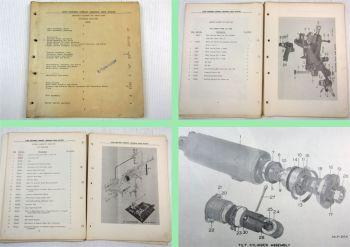 Clark Electric Clipper B Spare Parts List Parts Catalog