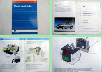 SSP 134 Mono Motronic VW Polo II Typ 86c Passat Audi 80 Selbststudienprogramm