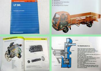 SSP 52 VW LT 50 5t Aufbau Konstruktion Fahrzeug 6 Zyl. 2,4l Dieselmotor DV
