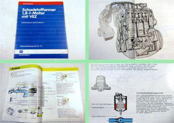 SSP 75 VW Golf 2 GTI RD Audi 80 GTE PV 1,8 L Motor mit VEZ Selbststudienprogramm
