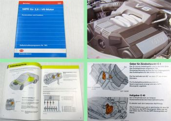 SSP 150 Audi 100 MPFI V6 2,6 l Motor Konstruktion + Funktion 1992